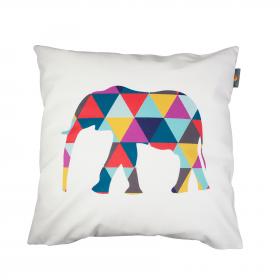 Hudební polštář - Geometric elephant