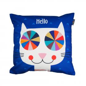 Designový polštář - Hello