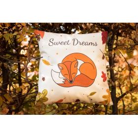 Povlak na polštář - Sweet dreams fox