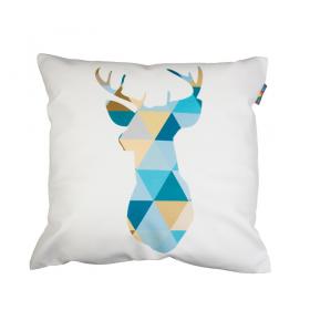 Povlak na polštář - Geometric deer