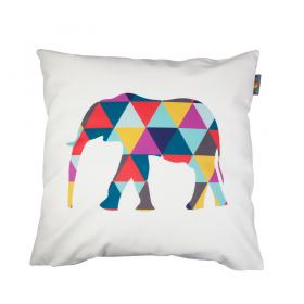 Povlak na polštář - Geometric elephant