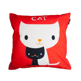 Povlak na polštář - Cat