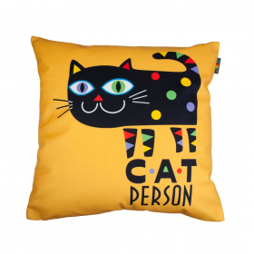 Povlak na polštář - Cat person