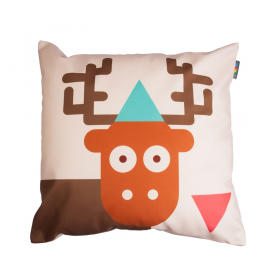 Povlak na polštář - Zamilovaný jelen