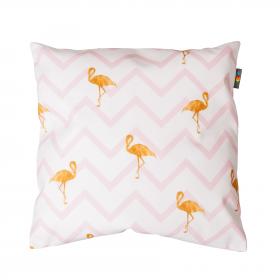 Hudební polštář - Flamingo stripes