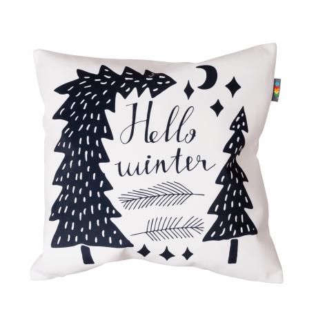 Hudební polštář - Hello winter