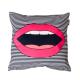 Designový polštář - Lips