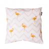 Designový polštář - Flamingo stripes