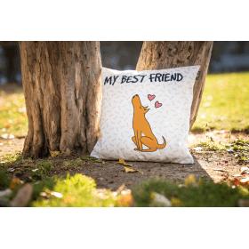 Designový polštář - My Best Friend